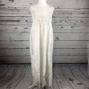 Vintage Victoria's Secret White Lace Nightgown